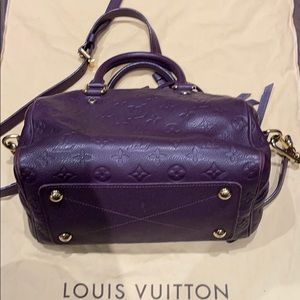 LV Empreinte Speedy 25 bag 100% authentic